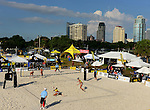 ST. PETERSBURG, FL - JUNE 18: General view of the Main draw during the FIVB Beach Volleyball World Tour St. Petersburg Grand Slam presented by the AVP on June 18, 2015 at Spa Beach in St. Petersburg, Florida. (Photo by Donald Miralle for the AVP)