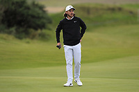 Tommy Fleetwood (ENG) on the 4th fairway during Round 2 of the Alfred Dunhill Links Championship 2019 at Kingbarns Golf CLub, Fife, Scotland. 27/09/2019.<br /> Picture Thos Caffrey / Golffile.ie<br /> <br /> All photo usage must carry mandatory copyright credit (© Golffile | Thos Caffrey)