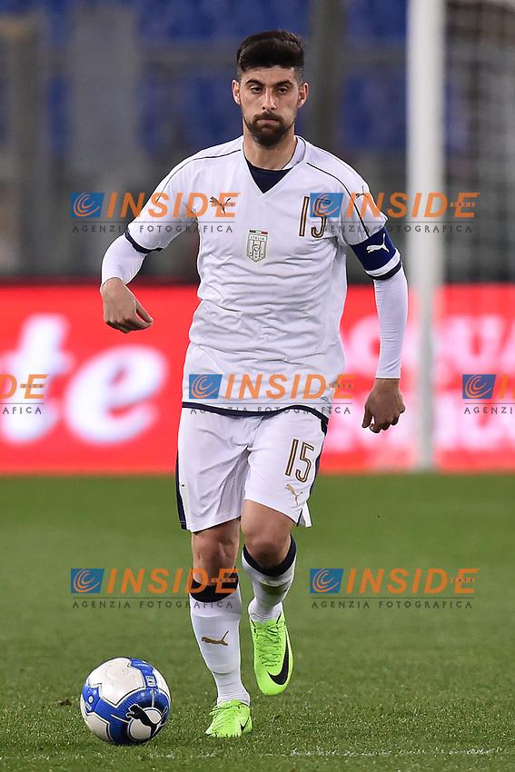 Marco Benassi Italia <br /> Roma 27-02-2017, Stadio Olimpico<br /> Football Friendly Match  <br /> Italy - Spain Under 21 Foto Andrea Staccioli Insidefoto