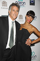 CHRISTOPHER KENNEDY LAWFORD, DENISE VASI at 3rd annual Caron renaissance ''Save a Life Benefit'' sponsored by Oster Media at Captiale 130 Bowery  10-17-2011<br /> Photo By John Barrett/PHOTOlink
