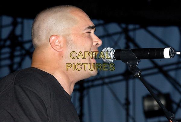 STAIND.perform live at 2003 KROQ Weenie Roast, The Verizon Wireless Amphitheatre.www.capitalpictures.com.sales@capitalpictures.com.©Capital Pictures.