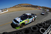 Jun. 21, 2009; Sonoma, CA, USA; NASCAR Sprint Cup Series driver Carl Edwards during the SaveMart 350 at Infineon Raceway. Mandatory Credit: Mark J. Rebilas-
