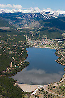 Barker Dam and Barker Reservoir at Nederland, Colorado. June 2014. 84254