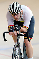 Dylan Kennett of Waikato BOP competes in the  Elite Men Omnium 1, Scratch race 10km at the Age Group Track National Championships, Avantidrome, Home of Cycling, Cambridge, New Zealand, Saturday, March 18, 2017. Mandatory Credit: © Dianne Manson/CyclingNZ  **NO ARCHIVING**