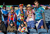 2nd February 2019, Murrayfield Stadium, Edinburgh, Scotland; Guinness Six Nations Rugby Championship, Scotland versus Italy; Some Scottish fans dress for the cold weather