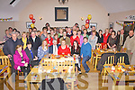 Kathleen Lynch seated front centre from Portmagee celebrated her 60th birthday with family and friends at Number 5 Bistro, Cahersiveen on Wednesday night last.
