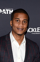 "LOS ANGELES - FEB 7:  Cory Hardrict at the ""The Oath"" Red Carpet Premiere Event at the Sony Studios on February 7, 2018 in Culver City, CA"