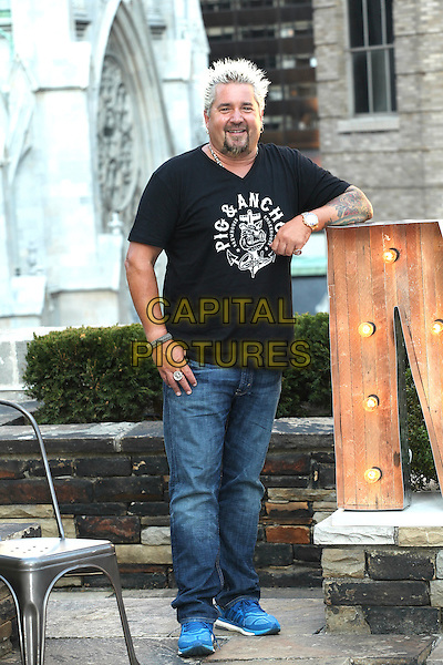 NEW YORK, NY - JULY 27: Guy Fieri attends Carnival Cruise Line&rsquo;s Summertime Beer-B-Que with Guy Fieri    at 620 Loft and Garden on July 27, 2016 in New York City. <br /> CAP/MPI99<br /> &copy;MPI99/Capital Pictures