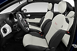 Front seat view of 2020 Fiat 500C-HYBRID S8-Star 2 Door Convertible Front Seat  car photos