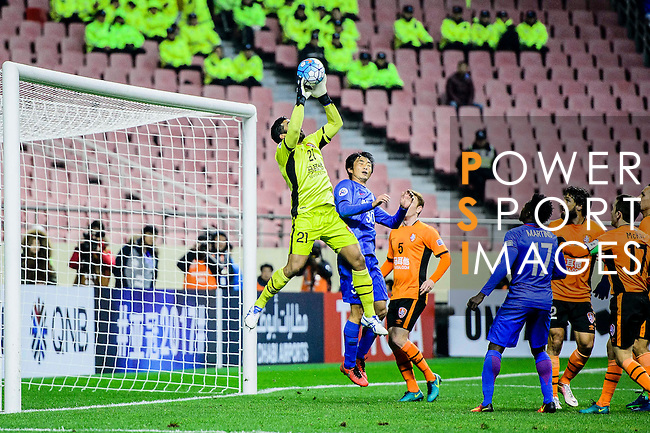 Shanghai Shenhua FC (CHN) vs Brisbane Roar (AUS) during their AFC Champions League 2017 Playoff Stage at the Hongkou Stadium, on 08 February 2017 in Shanghai, China. Photo by Marcio Rodrigo Machado / Power Sport Images