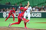 Darien Nunez (CUB), .MARCH 1, 2013 - WBC : .2013 World Baseball Classic .Exhibithion Game .between Fukuoka Softbank Hawks 8-10 Cube .at Yafuoku Dome, Fukuoka, Japan. .(Photo by YUTAKA/AFLO SPORT) [1040]