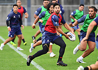 Shaun Johnson, <br /> Vodafone Warriors training session. Mt Smart Stadium, Auckland, New Zealand. NRL Rugby League. Tuesday 13 March 2018 &copy; Copyright photo: Andrew Cornaga / www.photosport.nz