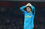 Arsenal's Emiliano Martinez looks on dejected during the EFL Cup match at the Emirates Stadium, London. Picture date October 30th, 2016 Pic David Klein/Sportimage