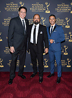 NEW YORK CITY - MAY 8:  John Laguna , Orlando Silver and Mariano Trujillo attend the Sports Emmy Awards at Jazz at Lincoln Center's Frederick P. Rose Hall in Manhattan on May 08, 2018 in New York City. (Photo by Anthony Behar/FX/PictureGroup)