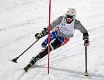 March 4, 2012: Alison Jones competes in the World Disabled Ski Invitational Championships, Winter Park, Colorado.