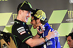 Le Mans GP de France<br /> Monster Energy Grand Prix de France during the world championship 2014.<br /> Press Conference<br /> Pol Espargaro y Valentino Rossi<br /> PHOTOCALL3000/RM