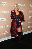 LOS ANGELES, CA - DECEMBER 1: Bebe Rexha, at Variety's 2nd Annual Hitmakers Brunch at Sunset Tower in Los Angeles, California on December 1, 2018.     <br /> CAP/MPI/FS<br /> &copy;FS/MPI/Capital Pictures