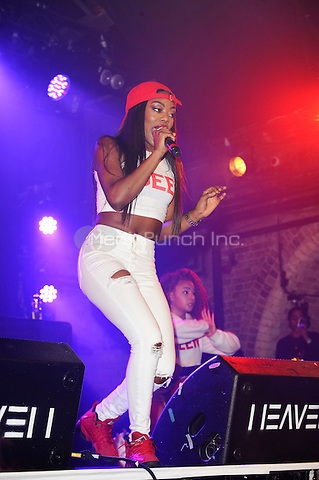 LONDON, ENGLAND - MARCH 3: Lady Leshurr(Melesha O'Garro) performing at Heaven, on March 3, 2017 in London, England.<br /> CAP/MAR<br /> &copy;MAR/Capital Pictures /MediaPunch ***NORTH AND SOUTH AMERICAS ONLY***