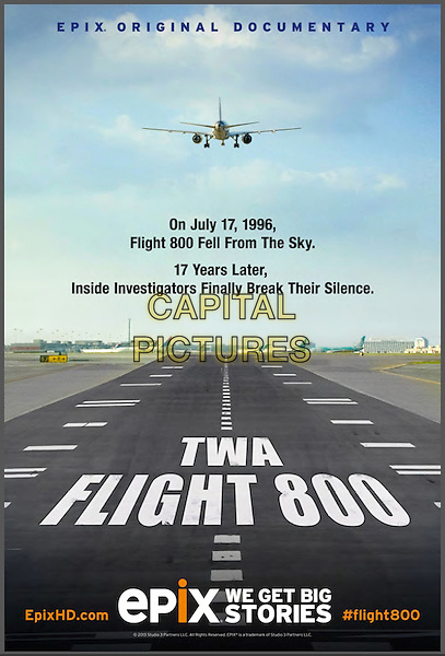 POSTER ART<br /> in TWA Flight 800 (2013) <br /> *Filmstill - Editorial Use Only*<br /> CAP/FB<br /> Image supplied by Capital Pictures