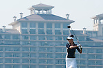 HAIKOU, CHINA - OCTOBER 30:  Catherine Zeta-Jones tees off on the9th hole during day four of the Mission Hills Start Trophy tournament at Mission Hills Resort on October 30, 2010 in Haikou, China. The Mission Hills Star Trophy is Asia's leading leisure liflestyle event and features Hollywood celebrities and international golf stars. Photo by Victor Fraile / The Power of Sport Images