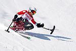Momoka Muraoka (JPN),  <br /> MARCH 11, 2018 - Alpine Skiing : <br /> Women's Super G Sitting<br /> at Jeongseon Alpine Centre  <br /> during the PyeongChang 2018 Paralympics Winter Games in Pyeongchang, South Korea. <br /> (Photo by Yusuke Nakanishi/AFLO SPORT)