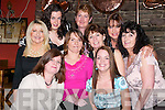 RETIRED: Staff members of Beru treated Sarah Buckley to dinner on Thursday night at Kirby's Brogue Inn, Tralee, to mark her retirement from Beru Tralee after 13 years. Front l-r: Susan Barry, Moira Loughnane, Sarah Buckley, Linda Nolan and Helen Dowling. Back l-r: Patsy Clifford, Nicola Mullins, Maureen O'Sullivan and Lillian Somers..