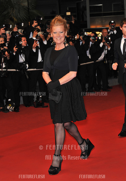 "Director Andrea Arnold at the premiere for her new movie ""Fish Tank"" which is in competition at the 62nd Festival de Cannes..May 14, 2009  Cannes, France.Picture: Paul Smith / Featureflash"