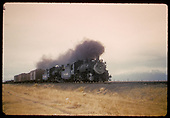 #482 K-36,# 483 K-36 double heading freight.<br /> D&amp;RGW  Alamosa - Antonito, CO