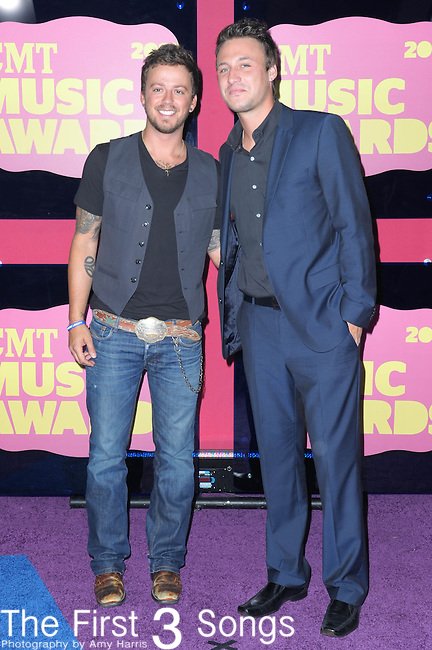 Love and Theft attend the 11th Annual CMT Awards in Nashville, TN on June 6, 2012.