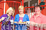 KEEP POURING: Pamela Brassil, Mary Fitzgerald and Eileen Flynn enjoying the coffee morning in aid of Kerry Hospice on Thursday morning at Castlemaine Community Centre.