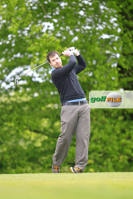 D. Morgan (Mullingar) on the 5th Tee during the Mullingar Scratch Trophy Day 1at Mullingar Golf Club Belvedere 18th May 2013.Picture: Thos Caffrey www.golffile.ie...