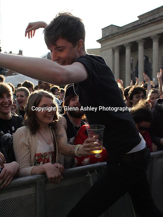 Dananananakroyd performing at Tramlines, Sheffield, United Kingdom, 23rd July 2011. Photo by Glenn Ashley.