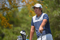Byeong Hun An (KOR) looks over his tee shot on 2 during day 1 of the Valero Texas Open, at the TPC San Antonio Oaks Course, San Antonio, Texas, USA. 4/4/2019.<br /> Picture: Golffile | Ken Murray<br /> <br /> <br /> All photo usage must carry mandatory copyright credit (© Golffile | Ken Murray)