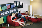 Employees at SB Nation, a part of VOX Media, work at their office in Washington DC.