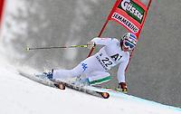 ATENCAO EDITOR IMAGEM EMBARGADA PARA VEICULOS INTERNACIONAIS - SEMMERING, AUSTRIA, 28 DEZEMBRO 2012 - AUDI FIS ALPINE WORLD CUP - A atleta italiana Manuela Moelgg compete na prova de Slalom Gigante do esqui Alpino durante a Audi FIS World Cup em Semmering na Austria nesta sexta-feira, 28. (FOTO: PIXATHLON / BRAZIL PHOTO PRESS).