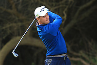 Ben Stow (ENG) on the 8th tee during Round 2 of the Challenge Tour Grand Final 2019 at Club de Golf Alcanada, Port d'Alcúdia, Mallorca, Spain on Friday 8th November 2019.<br /> Picture:  Thos Caffrey / Golffile<br /> <br /> All photo usage must carry mandatory copyright credit (© Golffile | Thos Caffrey)