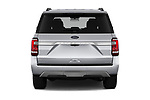 Straight rear view of 2018 Ford Expedition XLT 5 Door SUV Rear View  stock images