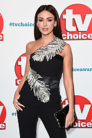 LONDON, UK. September 10, 2018: Michelle Keegan at the TV Choice Awards 2018 at the Dorchester Hotel, London.<br /> Picture: Steve Vas/Featureflash
