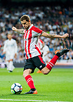 Inigo Martínez Berridi of Athletic Club de Bilbao in action during the La Liga 2017-18 match between Real Madrid and Athletic Club Bilbao at Estadio Santiago Bernabeu on April 18 2018 in Madrid, Spain. Photo by Diego Souto / Power Sport Images