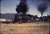 D&amp;RGW #483 double heading.<br /> D&amp;RGW
