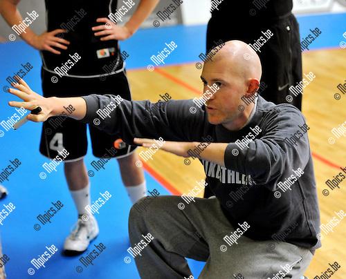 2010-09-08 / Basketbal / Seizoen 2010-2011 / Dames Sint-Katelijne-Waver / Arvid Diels..Foto: Mpics