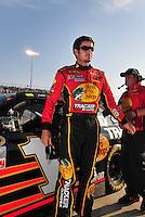 May 2, 2008; Richmond, VA, USA; NASCAR Sprint Cup Series driver Martin Truex Jr during qualifying for the Dan Lowry 400 at the Richmond International Raceway. Mandatory Credit: Mark J. Rebilas-US PRESSWIRE