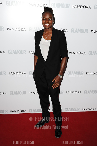 Nicola Adams arriving for the 013 Glamour Women of The Year Awards, Berkeley Square, London. 04/06/2013 Picture by: Steve Vas / Featureflash