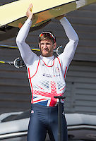Caversham. Berkshire. UK<br /> GBR M2X, Jonny WALTON.<br /> 2016 GBRowing European Team Announcement,  <br /> <br /> Wednesday  06/04/2016 <br /> <br /> [Mandatory Credit; Peter SPURRIER/Intersport-images]