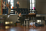 Overview of a scene during an Open Rehersal of the opera, The Mother of Us All, at the Hudson Opera House, in Hudson, NY, on Friday, October 27, 2017. Photo by Jim Peppler. Copyright/Jim Peppler-2017.