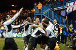 Luton Town 1 Leeds United 1, 26/01/2008. Kenilworth Road, League One. Sam Parkin equalises in the last minute for Luton. Photo by Simon Gill.