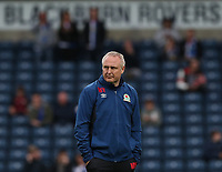 Blackburn Rovers assistant manager Mark Venus <br /> <br /> Photographer /Rachel HolbornCameraSport<br /> <br /> The EFL Checkatrade Trophy - Blackburn Rovers v Stoke City U23s - Tuesday 29th August 2017 - Ewood Park - Blackburn<br />  <br /> World Copyright &copy; 2018 CameraSport. All rights reserved. 43 Linden Ave. Countesthorpe. Leicester. England. LE8 5PG - Tel: +44 (0) 116 277 4147 - admin@camerasport.com - www.camerasport.com