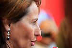 Segolene Royal at France Pavilion at the first day of Expo Milano 2015, in Milan on May 1, 2015.