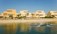 Dubai.  Luxurious villas in suburban development at Emirates Hills..