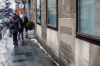 The museum of the Assassination of Franz Ferdinand. It was at this spot, on 28 June 1914, 19 year old Gavrilo Princip assassinated Archduke Franz Ferdinand and his wife, Sofia, setting in motion a chain of events that led to the First World War.